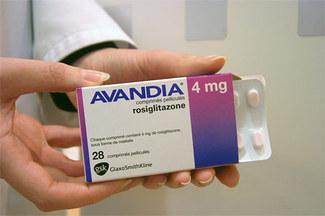 rozyglitazon-Avandia popularny lek na cukrzycę