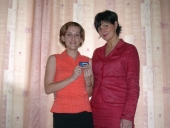 To ja z własną pompą insulinową i reprezentantką Roche Ewą Gwózdź